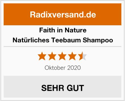 Faith in Nature Natürliches Teebaum Shampoo Test