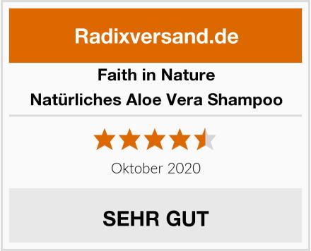 Faith in Nature Natürliches Aloe Vera Shampoo Test