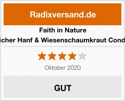 Faith in Nature Natürlicher Hanf & Wiesenschaumkraut Conditioner Test