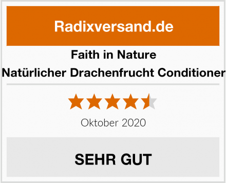 Faith in Nature Natürlicher Drachenfrucht Conditioner Test