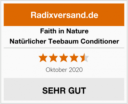 Faith in Nature Natürlicher Teebaum Conditioner Test