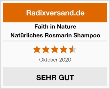 Faith in Nature Natürliches Rosmarin Shampoo Test
