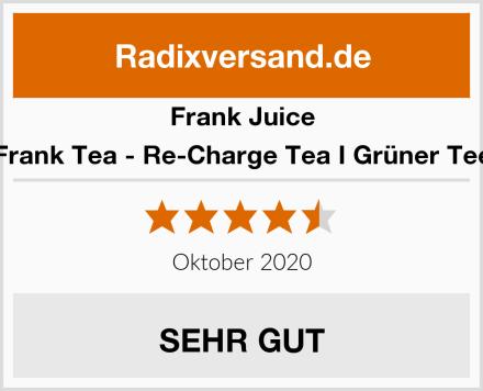 Frank Juice Frank Tea - Re-Charge Tea I Grüner Tee Test