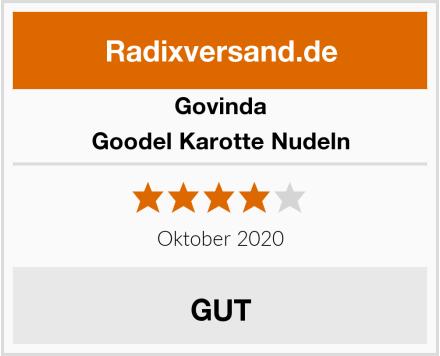 Govinda Goodel Karotte Nudeln Test