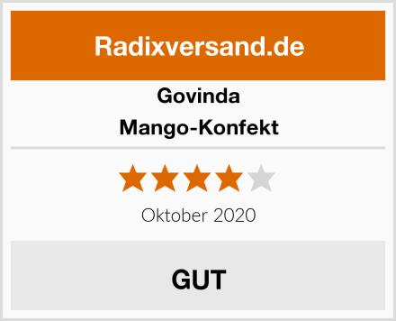 Govinda Mango-Konfekt Test