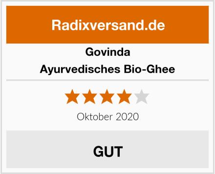 Govinda Ayurvedisches Bio-Ghee Test