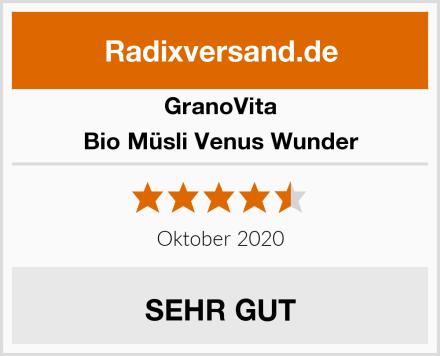 GranoVita Bio Müsli Venus Wunder Test