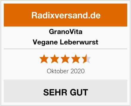 GranoVita Vegane Leberwurst Test