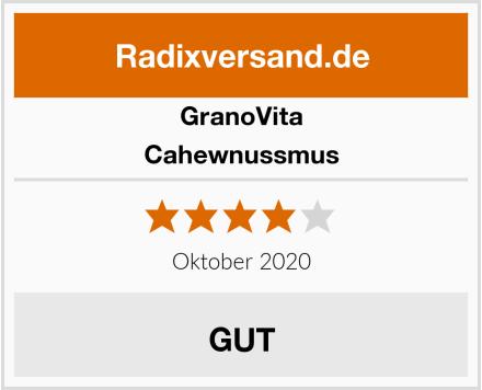 GranoVita Cahewnussmus Test