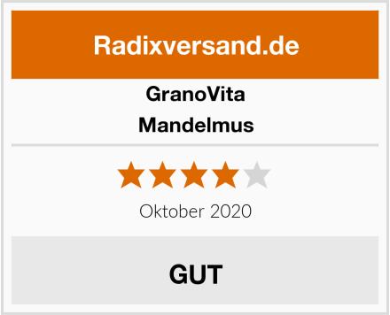 GranoVita Mandelmus Test