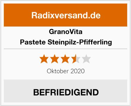 GranoVita Pastete Steinpilz-Pfifferling Test