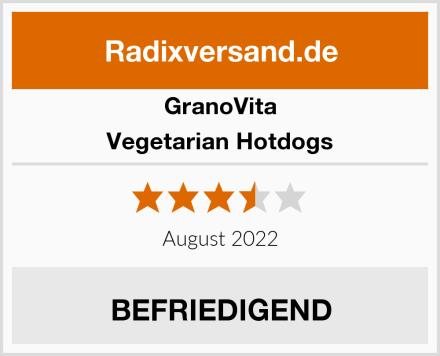 GranoVita Vegetarian Hotdogs Test