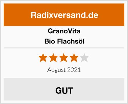 GranoVita Bio Flachsöl Test