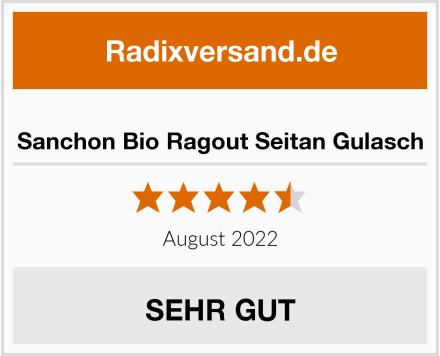 Sanchon Bio Ragout Seitan Gulasch Test