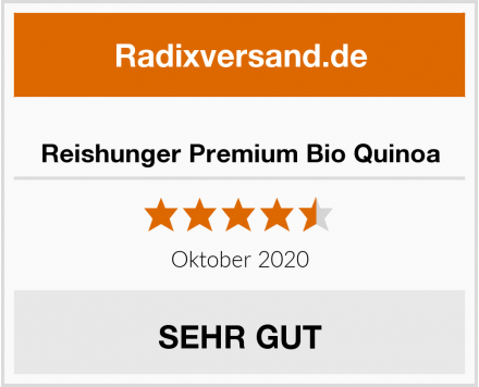 Reishunger Premium Bio Quinoa Test