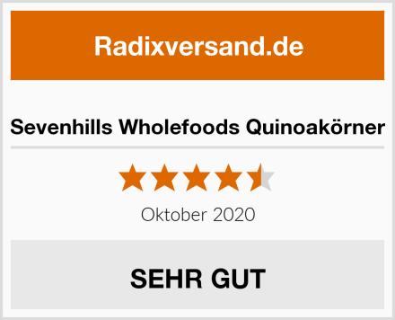 Sevenhills Wholefoods Quinoakörner Test