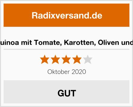 Knorr Quinoa mit Tomate, Karotten, Oliven und Kapern Test