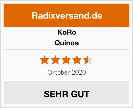 Koro Quinoa Test