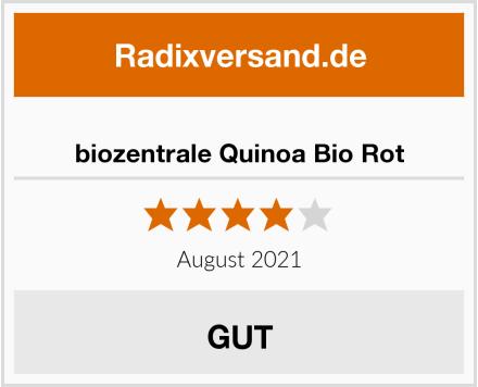 biozentrale Quinoa Bio Rot Test