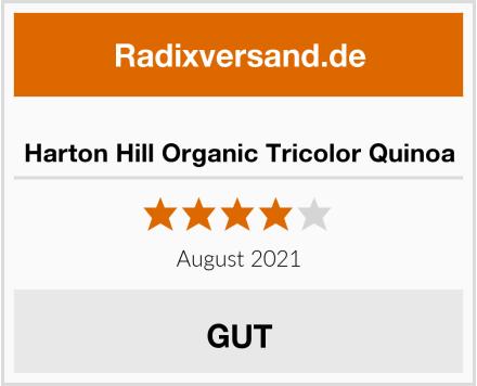 Harton Hill Organic Tricolor Quinoa Test