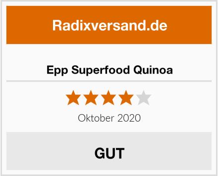 Epp Superfood Quinoa Test