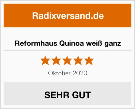 Reformhaus Quinoa weiß ganz Test