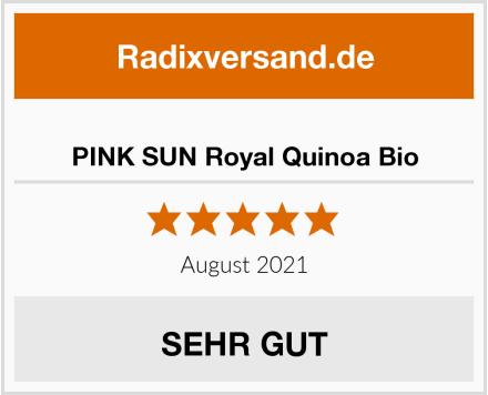 PINK SUN Royal Quinoa Bio Test