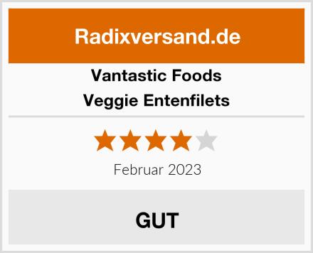 Vantastic Foods Veggie Entenfilets Test