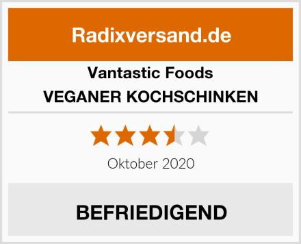 Vantastic Foods VEGANER KOCHSCHINKEN Test