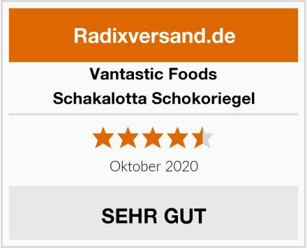 Vantastic Foods Schakalotta Schokoriegel Test