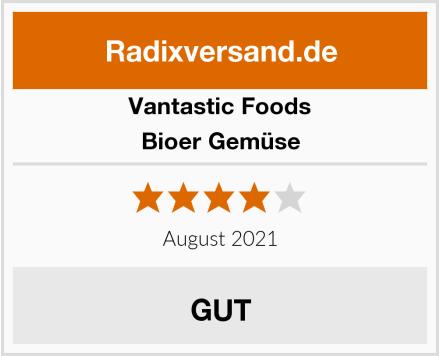 Vantastic Foods Bioer Gemüse Test