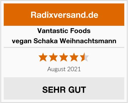 Vantastic Foods vegan Schaka Weihnachtsmann Test