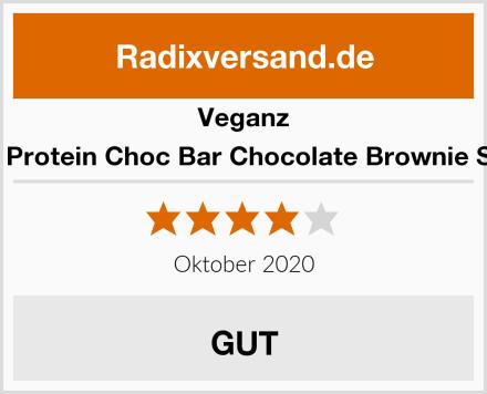 Veganz BIO Protein Choc Bar Chocolate Brownie Style Test