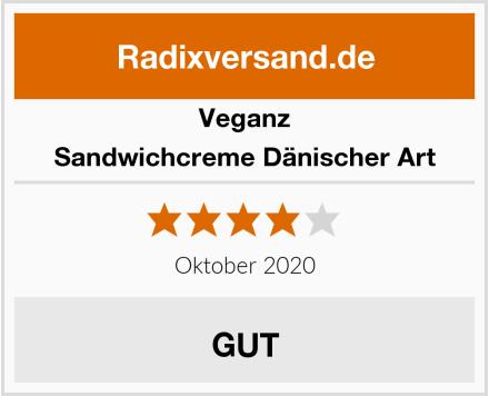Veganz Sandwichcreme Dänischer Art Test