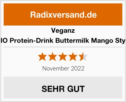 Veganz BIO Protein-Drink Buttermilk Mango Style Test
