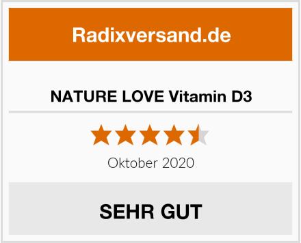 NATURE LOVE Vitamin D3 Test