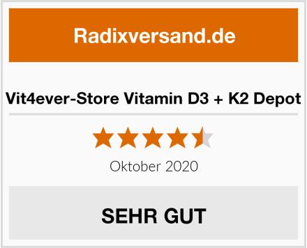 Vit4ever-Store Vitamin D3 + K2 Depot Test