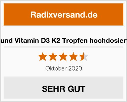 Sonnen Freund Vitamin D3 K2 Tropfen hochdosiert und vegan Test