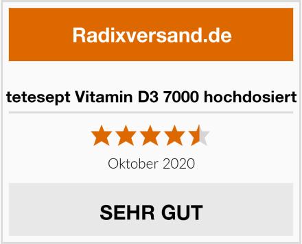 tetesept Vitamin D3 7000 hochdosiert Test