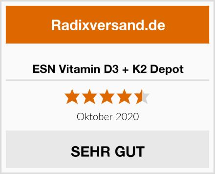 ESN Vitamin D3 + K2 Depot Test