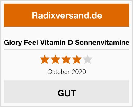 Glory Feel Vitamin D Sonnenvitamine Test