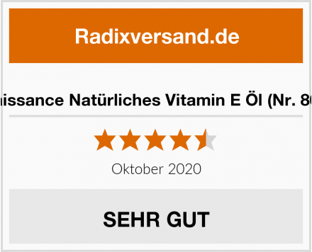 Naissance Natürliches Vitamin E Öl (Nr. 807) Test