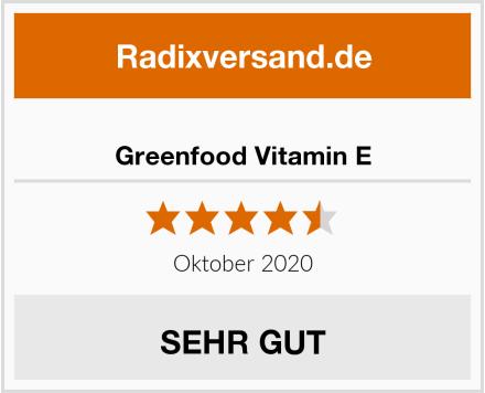 Greenfood Vitamin E Test