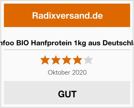 Hanfoo BIO Hanfprotein 1kg aus Deutschland Test