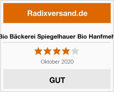 Bio Bäckerei Spiegelhauer Bio Hanfmehl Test