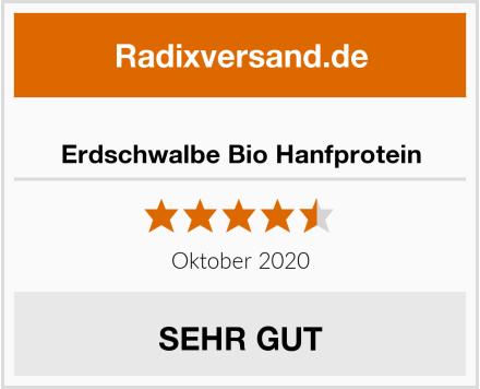 Erdschwalbe Bio Hanfprotein Test