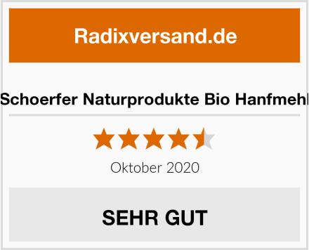 Schoerfer Naturprodukte Bio Hanfmehl Test