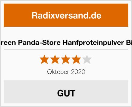 Green Panda-Store Hanfproteinpulver Bio Test