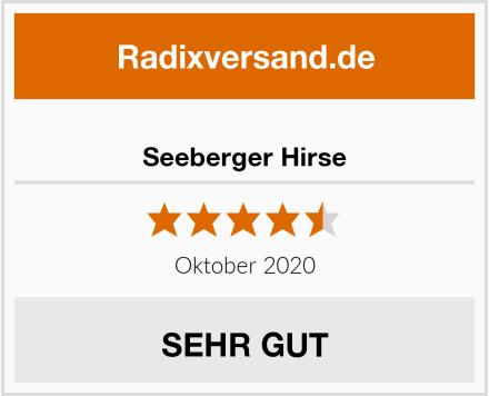 Seeberger Hirse Test