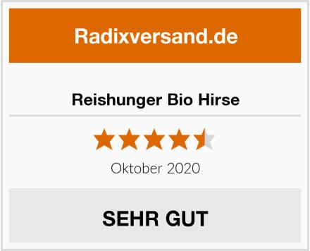 Reishunger Bio Hirse Test